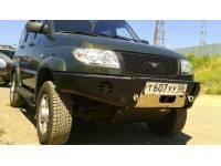 Бампер силовой передний на УАЗ Патриот «КИТОБОЙ» без кенгурина