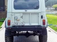 Бампер задний на УАЗ 469 Таран