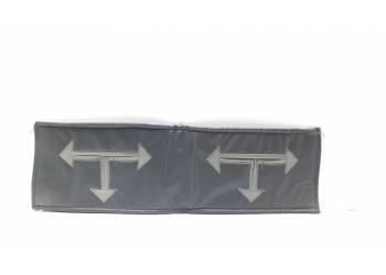 Утеплитель радиатора УАЗ-Хантер темно -серый